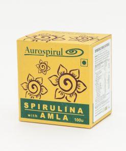 Spirulina_z_amlą_kapsułki_Aurospirul_MOMA_Ayurveda