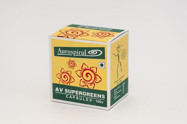 AV_SuperGreens_100 kapsułek_Moma_Ayurveda