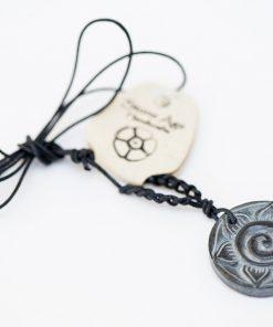 Naszyjnik kwiat spirali MOMA