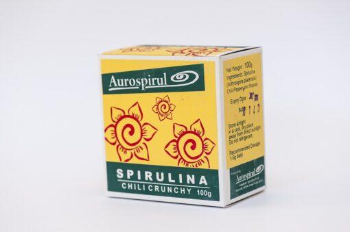 spirulina chili crunchy Aurospirul