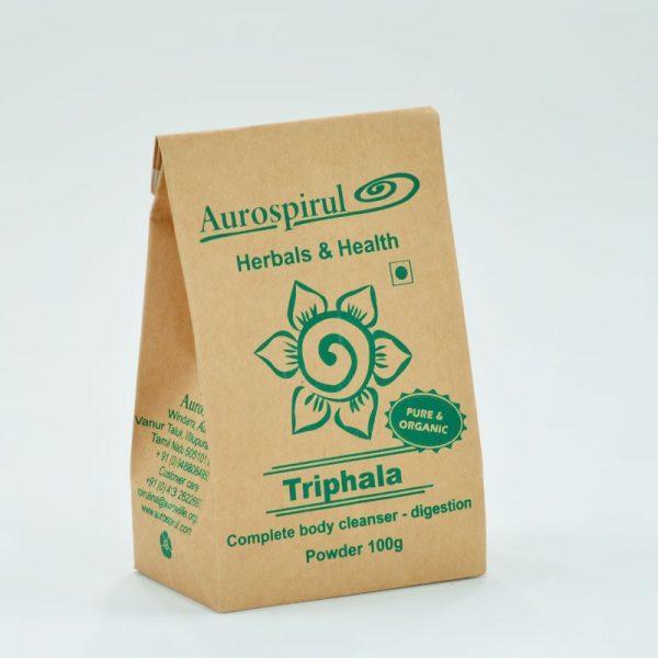 triphala proszek aurospirul momaayurveds